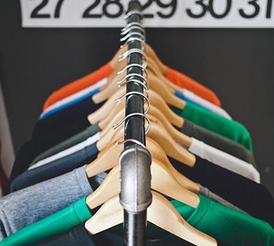 Antivols sur vêtements